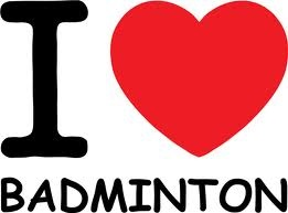 I love badminton