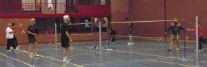 Badminton op maandag1